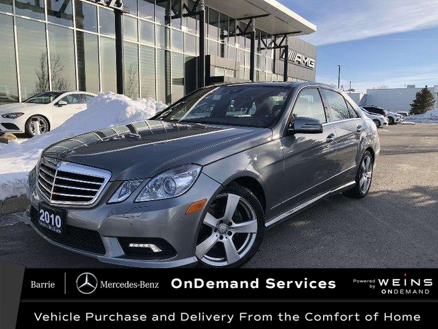 2010 Mercedes-Benz E-Class Base (Stk: 20MB332A) in Innisfil - Image 1 of 25