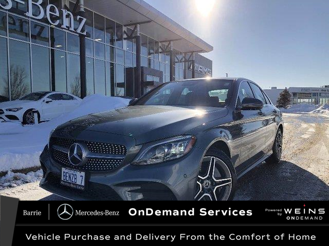 2020 Mercedes-Benz C-Class Base (Stk: 20MB109) in Innisfil - Image 1 of 22