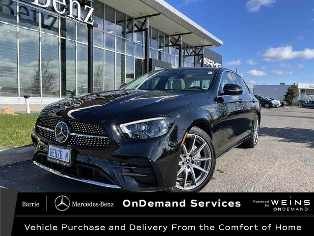 2021 Mercedes-Benz E-Class Base (Stk: 21MB168) in Innisfil - Image 1 of 24