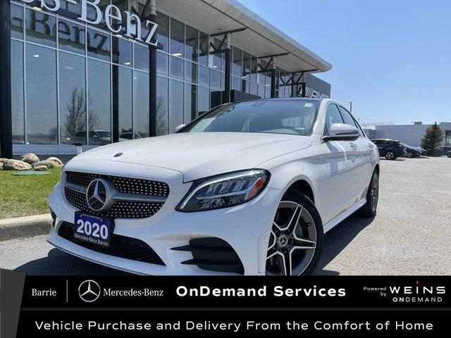 2020 Mercedes-Benz C-Class Base (Stk: U3156) in Innisfil - Image 1 of 26