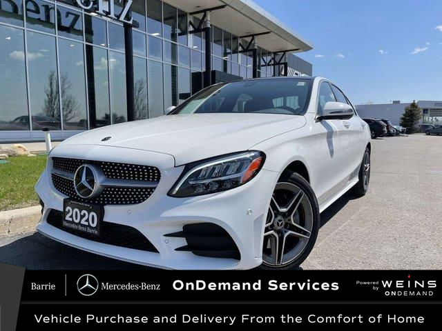 2020 Mercedes-Benz C-Class Base (Stk: U3157) in Innisfil - Image 1 of 26