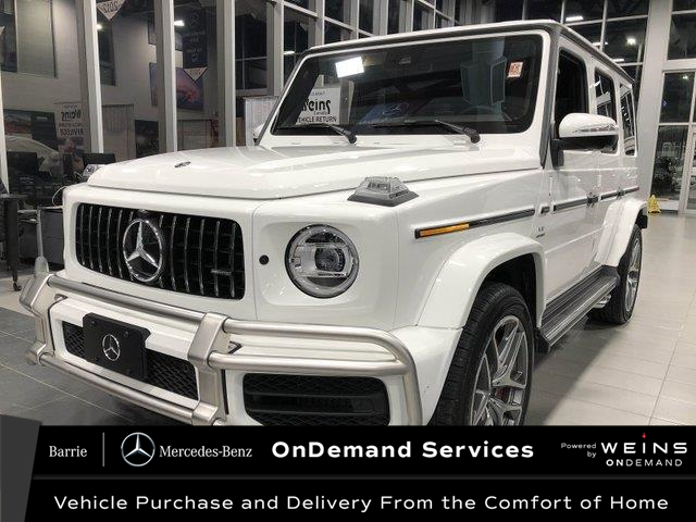 2020 Mercedes-Benz AMG G 63 Base (Stk: CONS10) in Innisfil - Image 1 of 38
