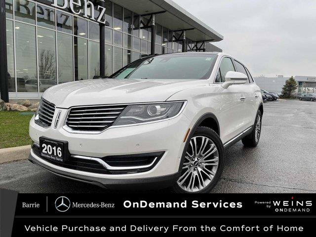 2016 Lincoln MKX Reserve (Stk: 21MB064A) in Innisfil - Image 1 of 23