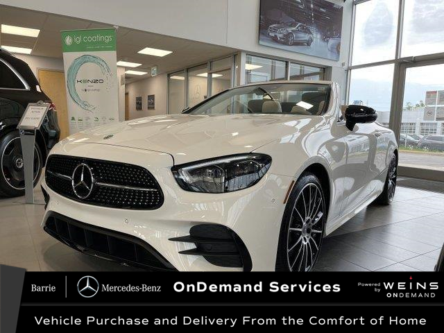2021 Mercedes-Benz E-Class Base (Stk: 21MB207) in Innisfil - Image 1 of 25