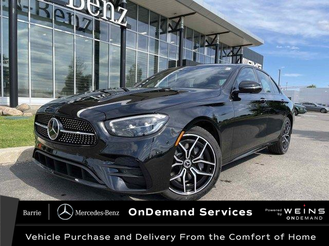 2021 Mercedes-Benz E-Class Base (Stk: 21MB213) in Innisfil - Image 1 of 25