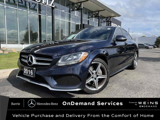 2016 Mercedes-Benz C-Class Base (Stk: 21MB130A) in Innisfil - Image 1 of 23