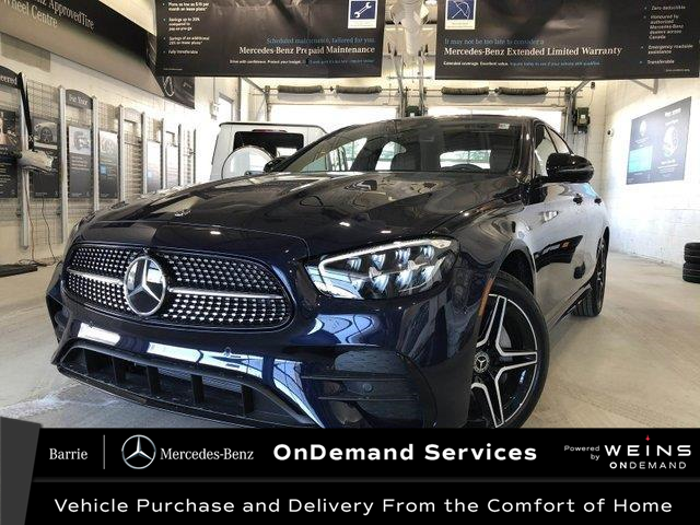 2021 Mercedes-Benz E-Class Base (Stk: 21MB126) in Innisfil - Image 1 of 24