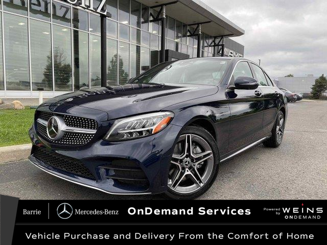 2021 Mercedes-Benz C-Class Base (Stk: 21MB259) in Innisfil - Image 1 of 24