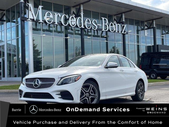 2021 Mercedes-Benz C-Class Base (Stk: 21MB299) in Innisfil - Image 1 of 15