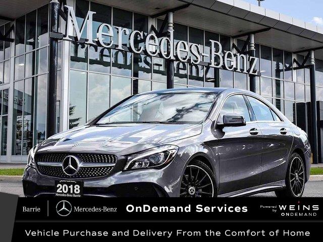 2018 Mercedes-Benz CLA 250 Base (Stk: U3221) in Innisfil - Image 1 of 30