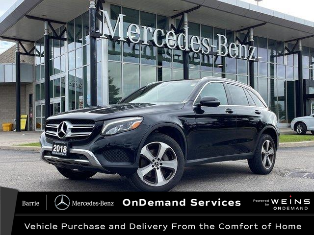 2018 Mercedes-Benz GLC 300 Base (Stk: U3229) in Innisfil - Image 1 of 8