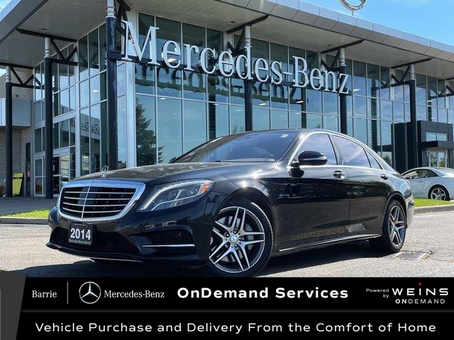 2014 Mercedes-Benz S-Class Base (Stk: 21MB303A) in Innisfil - Image 1 of 25