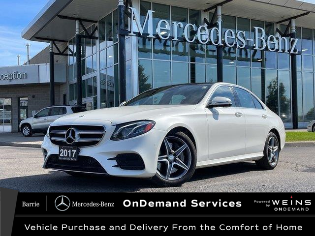 2017 Mercedes-Benz E-Class Base (Stk: 21MB209A) in Innisfil - Image 1 of 27