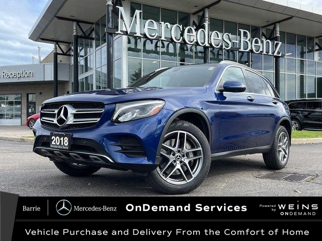 2018 Mercedes-Benz GLC 300 Base (Stk: 21MB300A) in Innisfil - Image 1 of 8