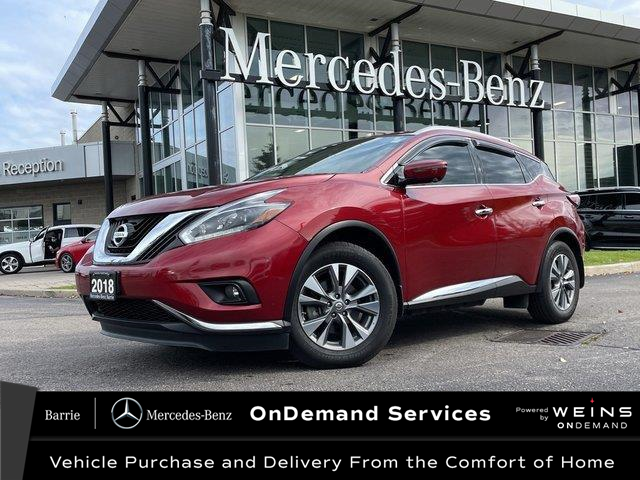 2018 Nissan Murano SL (Stk: 21MB298A) in Innisfil - Image 1 of 27