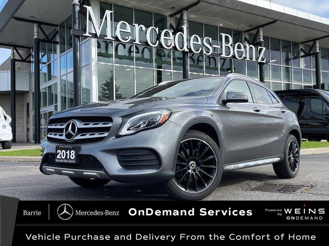 2018 Mercedes-Benz GLA 250 Base (Stk: U3248) in Innisfil - Image 1 of 24
