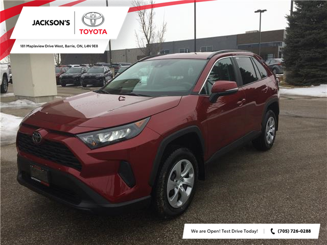 2020 Toyota RAV4 LE (Stk: 7806) in Barrie - Image 1 of 15