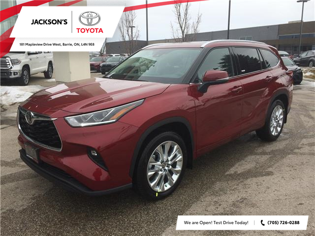2020 Toyota Highlander Limited (Stk: 1050) in Barrie - Image 1 of 14