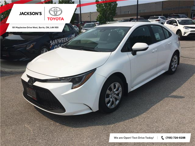 2020 Toyota Corolla LE (Stk: 5196) in Barrie - Image 1 of 13