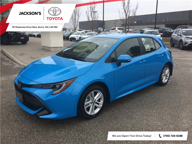 2020 Toyota Corolla Hatchback Base (Stk: 04577A) in Barrie - Image 1 of 13