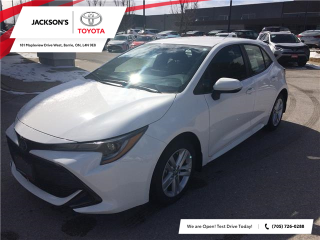 2020 Toyota Corolla Hatchback Base (Stk: 6843) in Barrie - Image 1 of 15