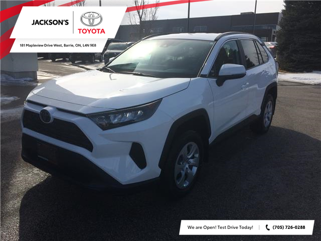 2020 Toyota RAV4 LE (Stk: 4452) in Barrie - Image 1 of 14