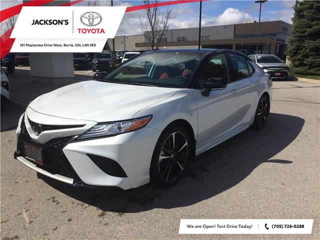 2020 Toyota Camry XSE (Stk: 7211) in Barrie - Image 1 of 14