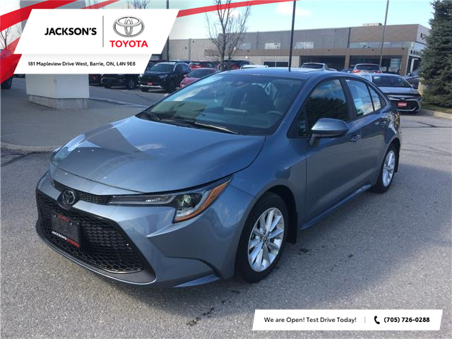2020 Toyota Corolla LE (Stk: 8355) in Barrie - Image 1 of 14