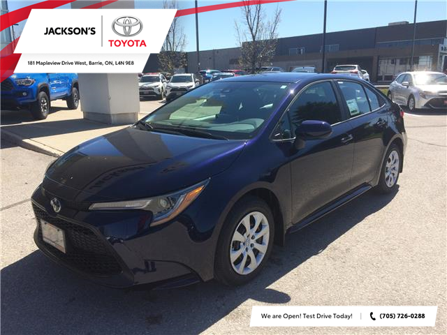 2020 Toyota Corolla LE (Stk: 8439) in Barrie - Image 1 of 13