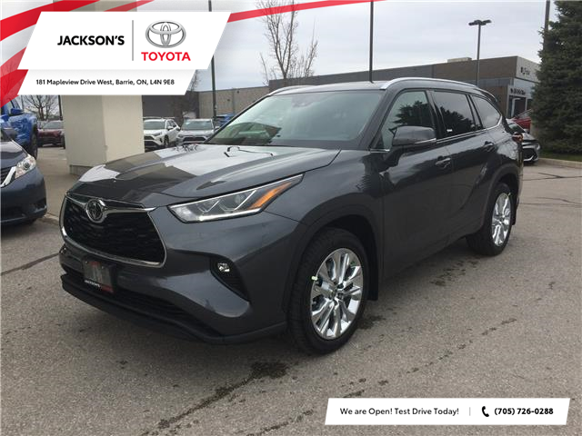 2020 Toyota Highlander Limited (Stk: 9368) in Barrie - Image 1 of 14