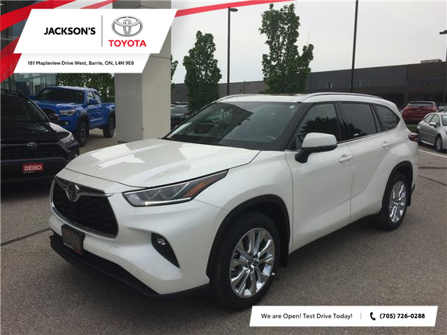 2020 Toyota Highlander Limited (Stk: 7997) in Barrie - Image 1 of 14