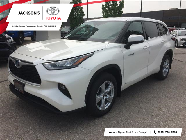 2020 Toyota Highlander Hybrid LE (Stk: 353) in Barrie - Image 1 of 14