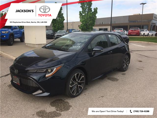 2020 Toyota Corolla Hatchback Base (Stk: 3833) in Barrie - Image 1 of 14