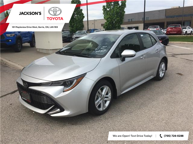 2020 Toyota Corolla Hatchback Base (Stk: 6585) in Barrie - Image 1 of 14