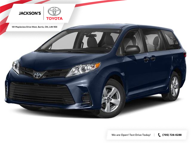 2020 Toyota Sienna LE 8-Passenger (Stk: 1908) in Barrie - Image 1 of 9