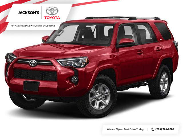 2020 Toyota 4Runner Base (Stk: 4943) in Barrie - Image 1 of 9