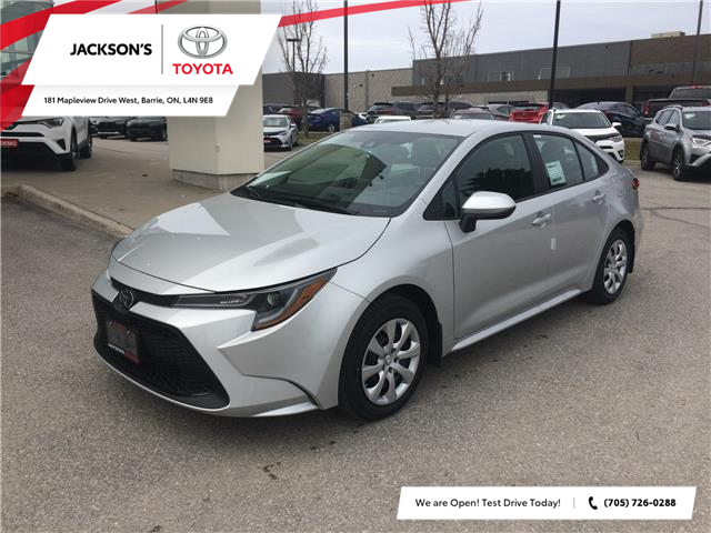 2020 Toyota Corolla LE (Stk: 5005) in Barrie - Image 1 of 12