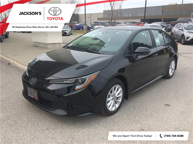 2020 Toyota Corolla LE (Stk: 5176) in Barrie - Image 1 of 13