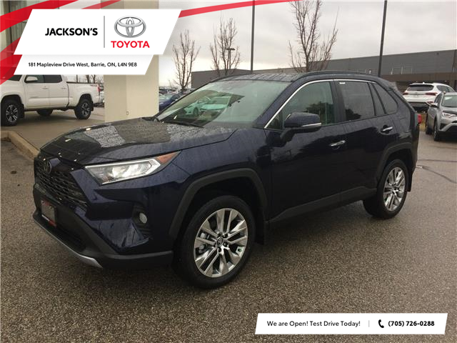 2020 Toyota RAV4 Limited (Stk: 01878A) in Barrie - Image 1 of 14