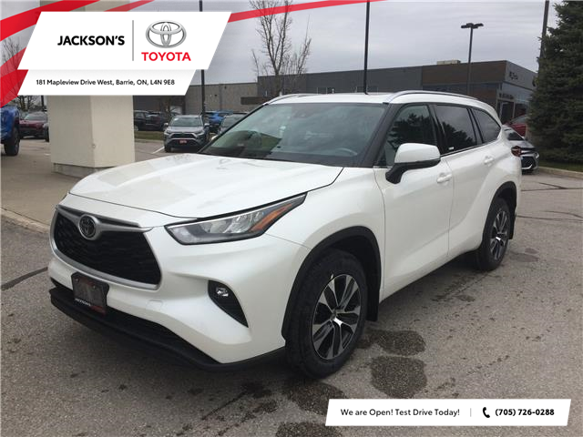 2020 Toyota Highlander XLE (Stk: 4018) in Barrie - Image 1 of 14