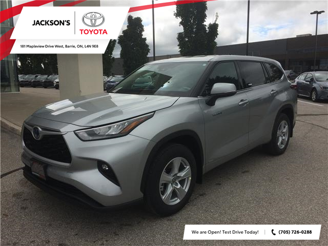 2020 Toyota Highlander Hybrid LE (Stk: 6524) in Barrie - Image 1 of 14