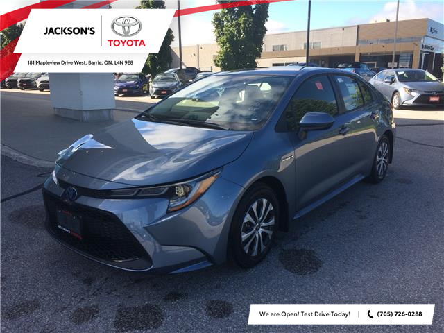 2021 Toyota Corolla Hybrid Base w/Li Battery (Stk: 15549) in Barrie - Image 1 of 13
