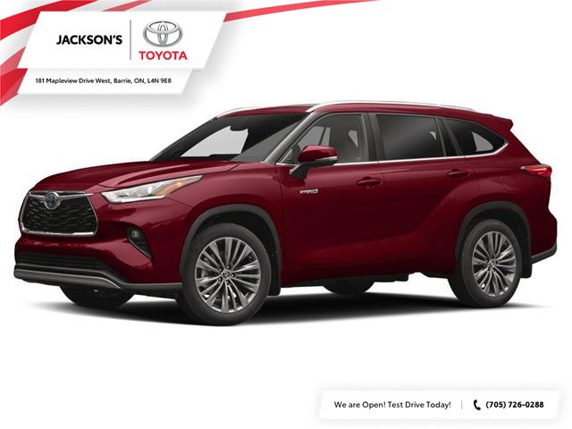 2020 Toyota Highlander Hybrid Limited (Stk: 4586) in Barrie - Image 1 of 2