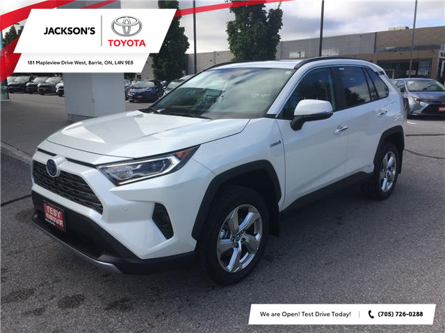 2021 Toyota RAV4 Hybrid Limited (Stk: 13689) in Barrie - Image 1 of 14