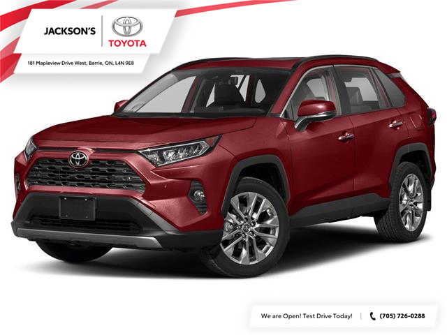 2021 Toyota RAV4 Limited (Stk: 17866) in Barrie - Image 1 of 9