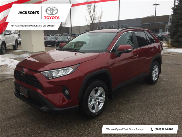 2021 Toyota RAV4 XLE (Stk: 19645) in Barrie - Image 1 of 12