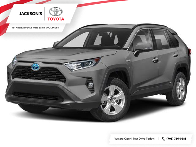 2021 Toyota RAV4 Hybrid XLE (Stk: 14260) in Barrie - Image 1 of 9