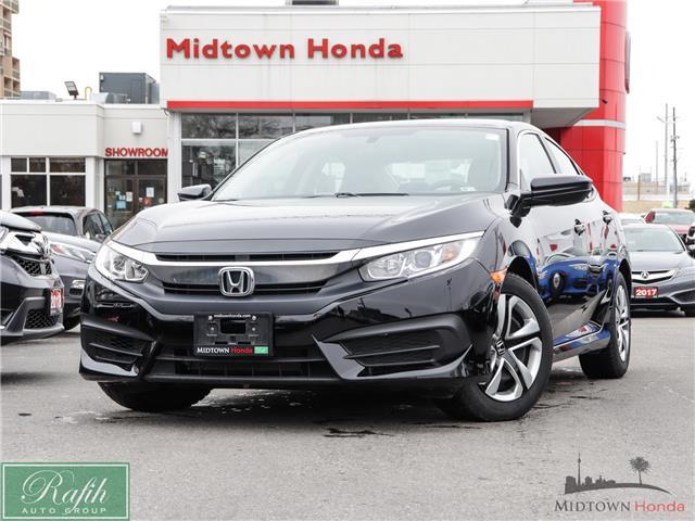 2018 Honda Civic LX (Stk: P13615) in North York - Image 1 of 27