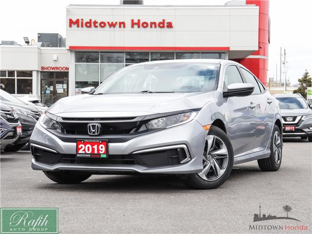 2019 Honda Civic LX (Stk: P13612) in North York - Image 1 of 26