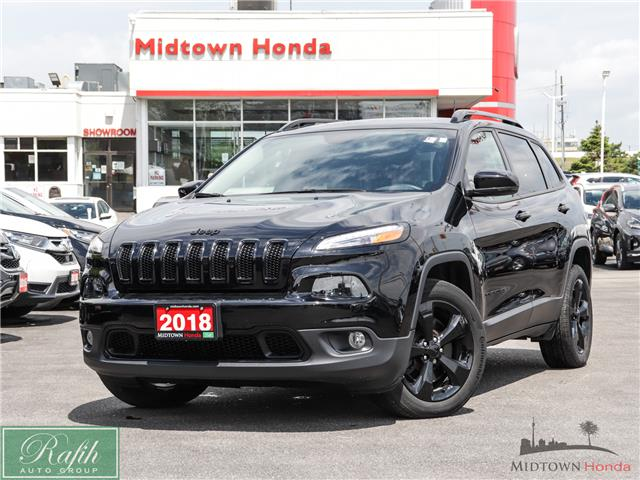 2018 Jeep Cherokee Limited (Stk: P13703) in North York - Image 1 of 15